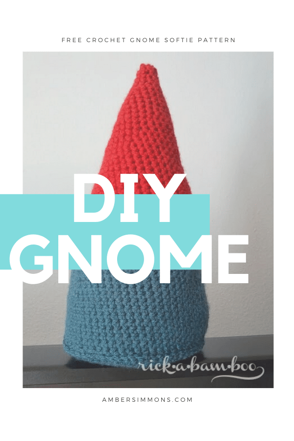 Free pattern to crochet your own gnome softie