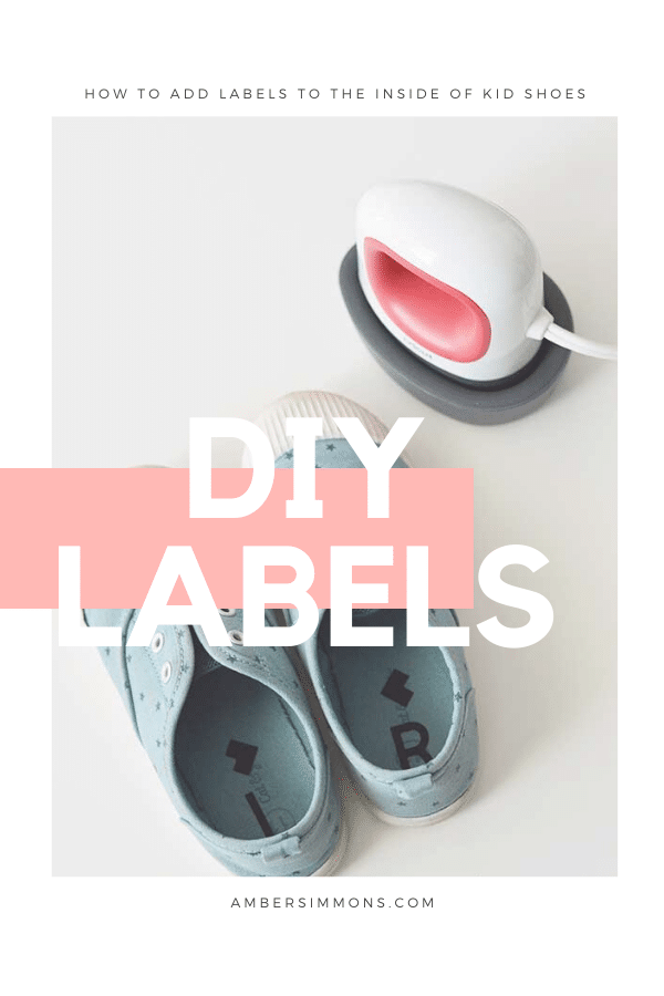 How to easily add labels to your kid's shoes so that they always put them on the correct feet.