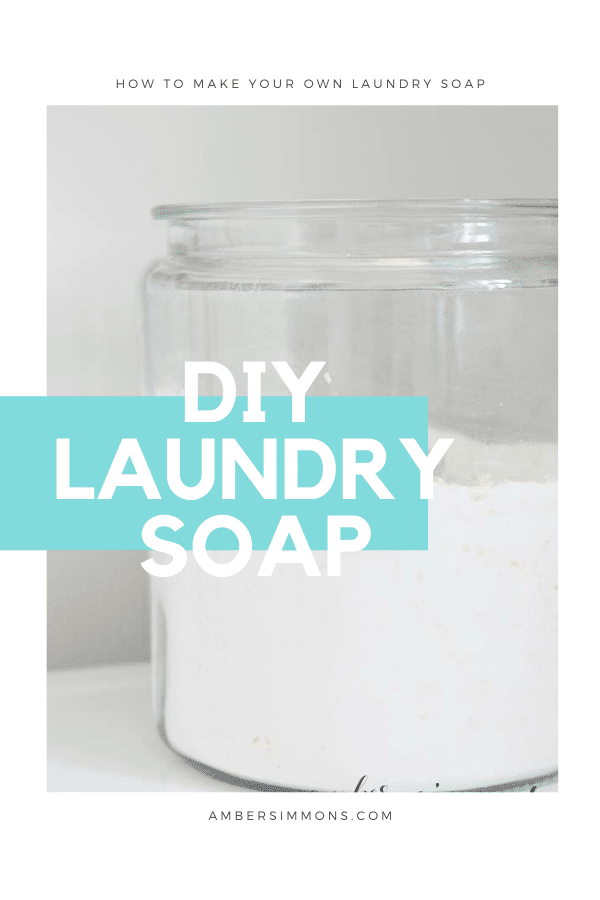 Make your year's supply of laundry soap for $20
