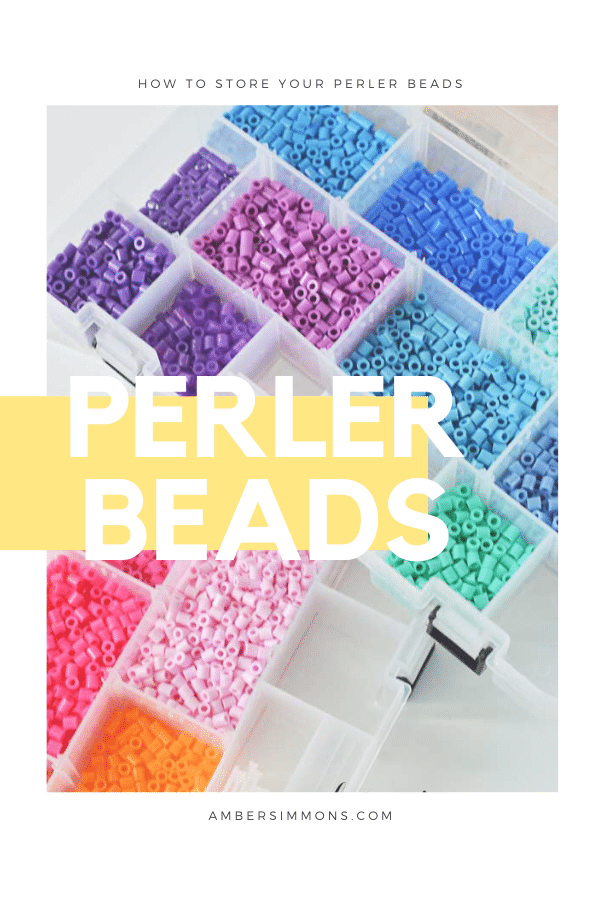 How to sort and store your perler bead collection