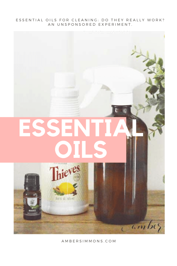 Find out if essential oils really work to clean with in this unsponsored experiment.
